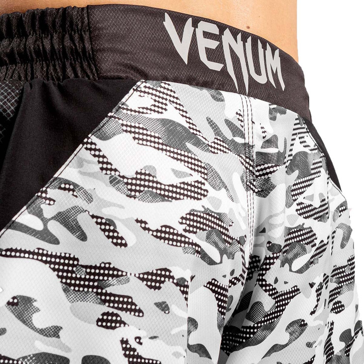 Venum Defender Urban Camo Fight Shorts White/Black