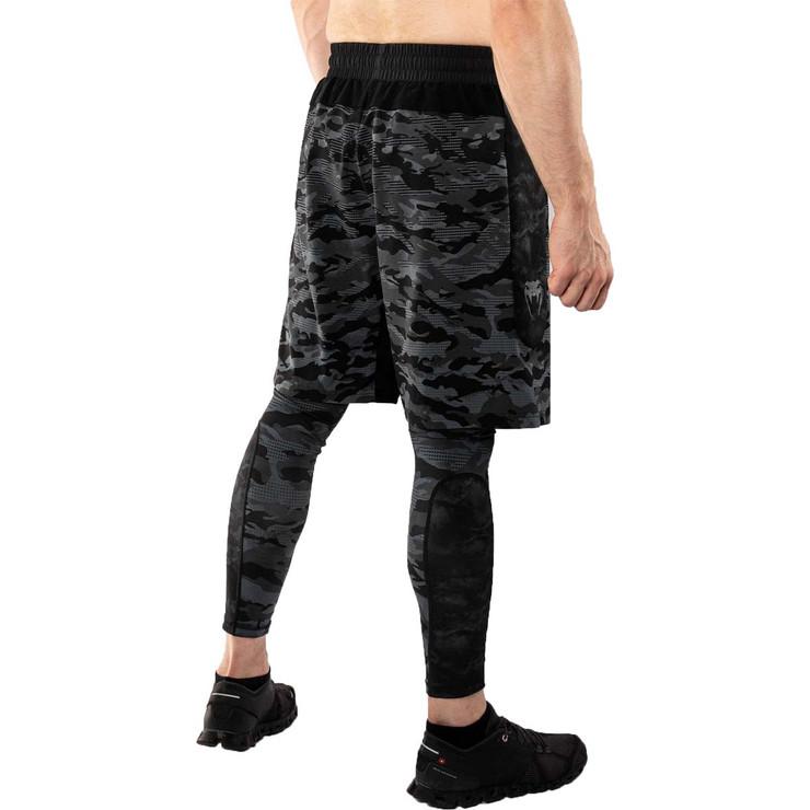 Venum Defender Dark Camo Training Shorts Black/Grey
