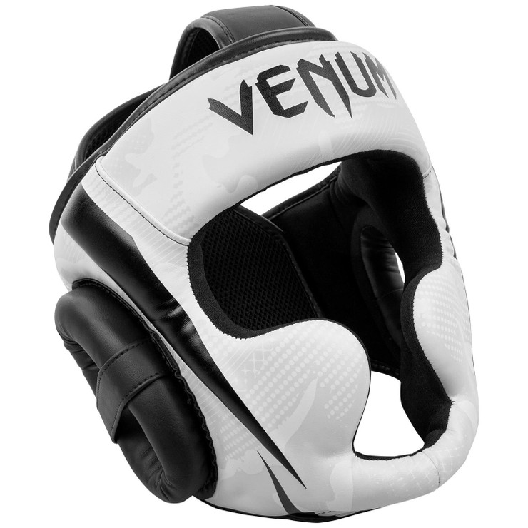 Venum Elite Head Guard White/Camo