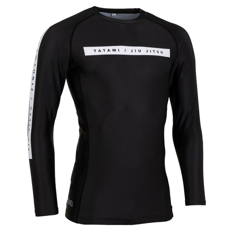 Tatami Fightwear Rival Long Sleeve Rash Guard Black