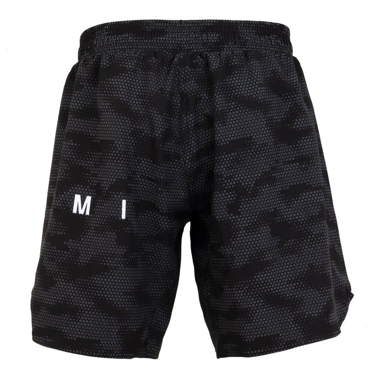 Tatami Fightwear Standard Edition Digital Camo Grapple Fit Shorts Black