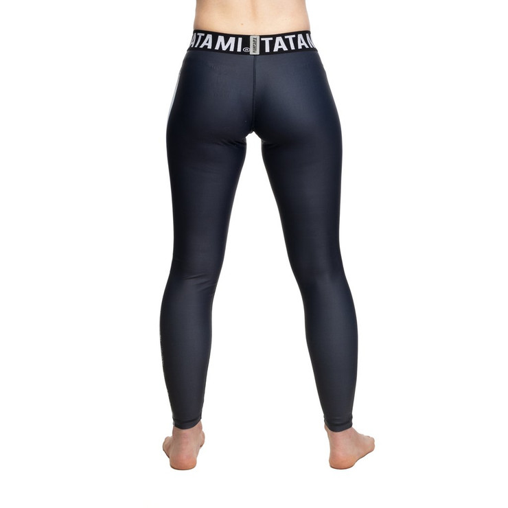 Tatami Fightwear Ladies Tropic Grappling Spats Black