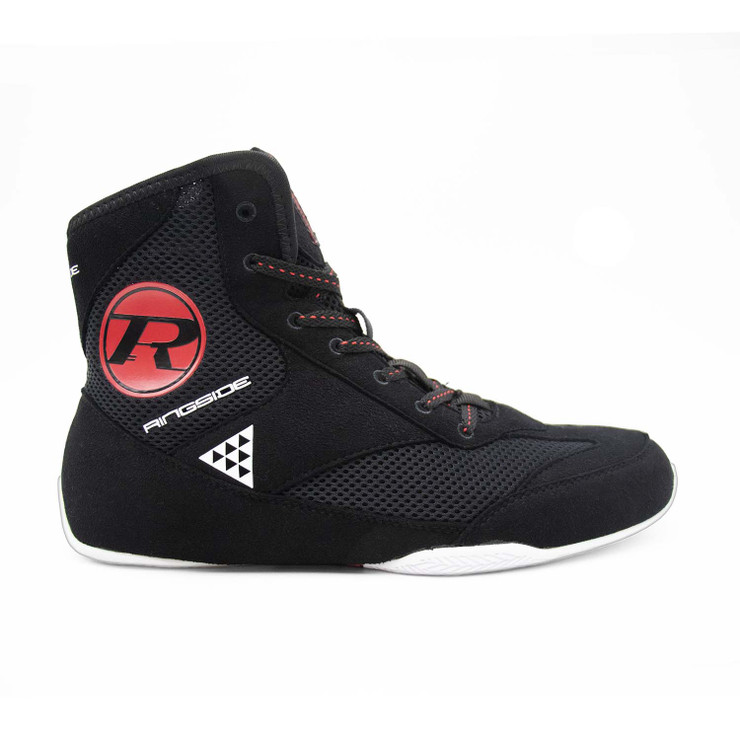 Ringside Pro Apparel Vector Boxing Boots Black/Red