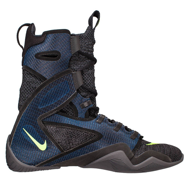 Nike Hyper KO 2.0 Boxing Boots Black/Blue/Grey