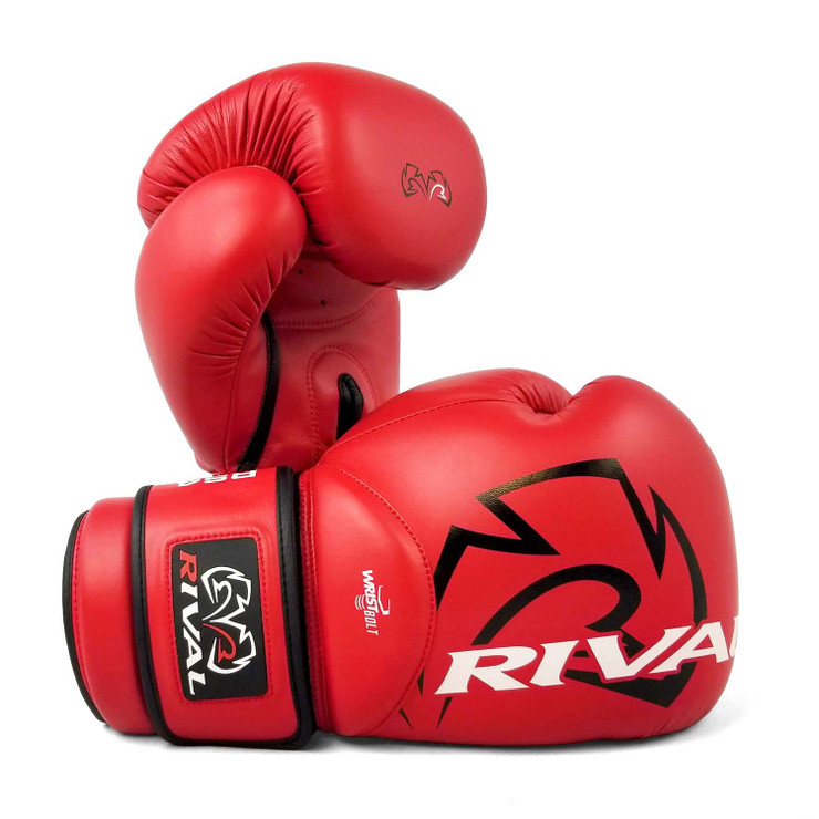 Rival RS4 Aero 2.0 Sparring Gloves Red