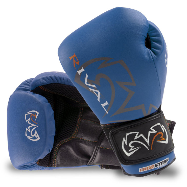 Rival RS10V Optima Sparring Gloves  Blue