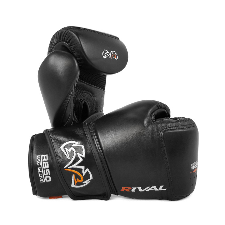 Rival RB50 Intelli-shock Compact Bag Gloves Black