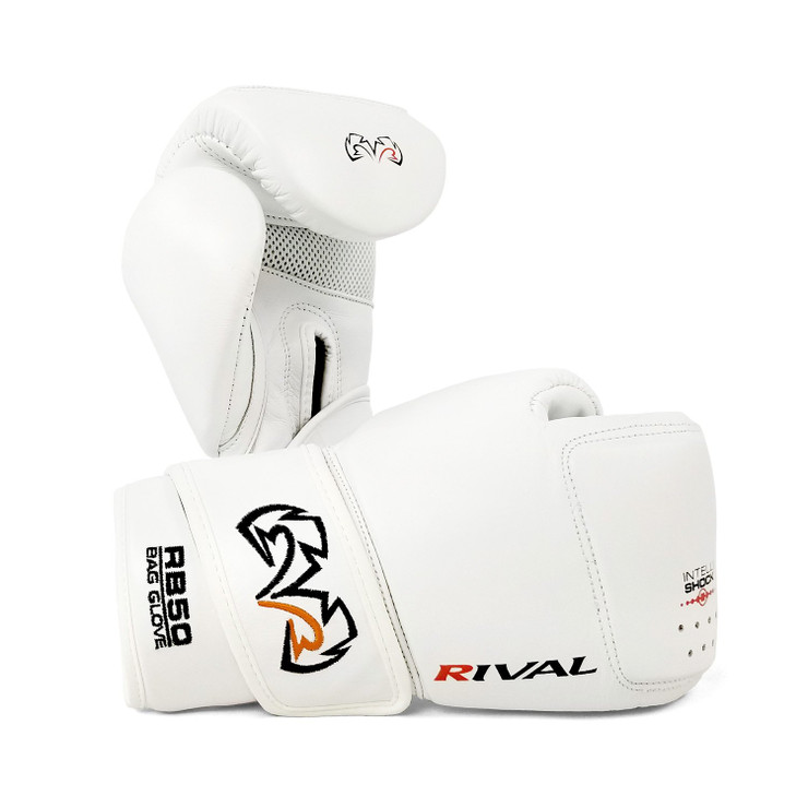 Rival RB50 Intelli-shock Compact Bag Gloves White