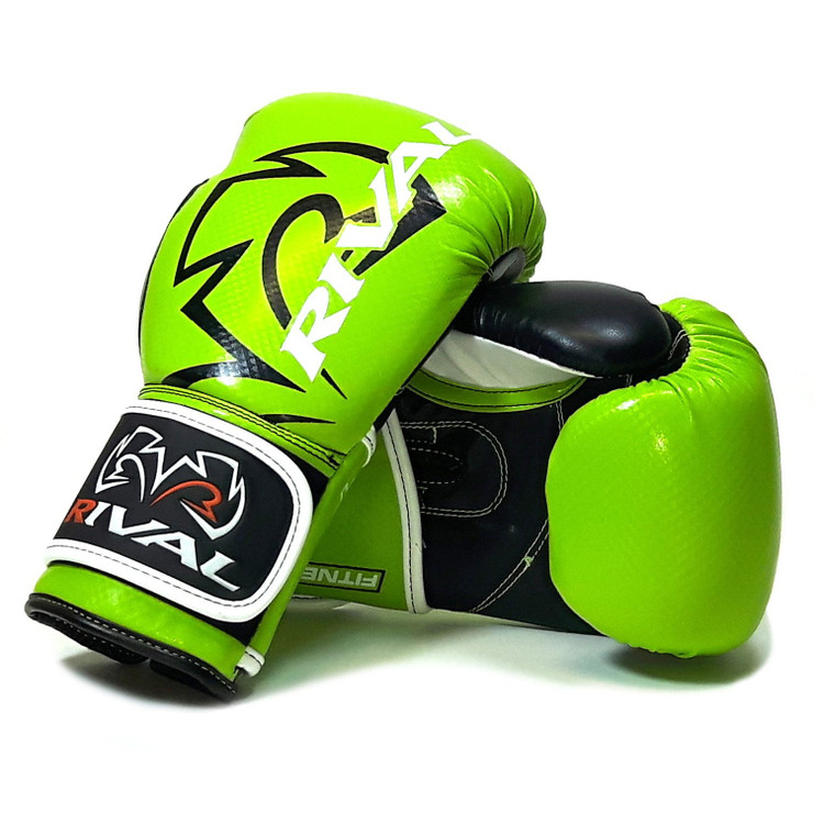 Rival RB7 Fitness Plus Bag Gloves Lime/Black