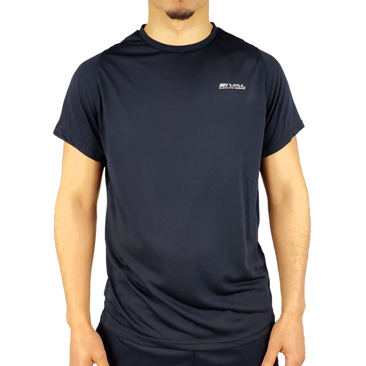Rival Elite Active T Shirt Black