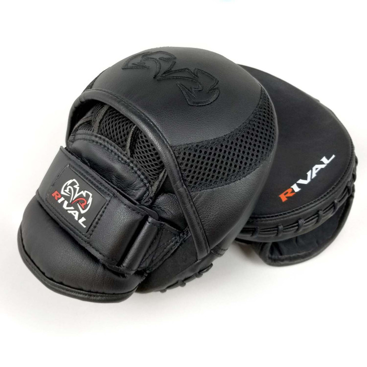 Rival RPM11 Evolution Punch Mitts Black