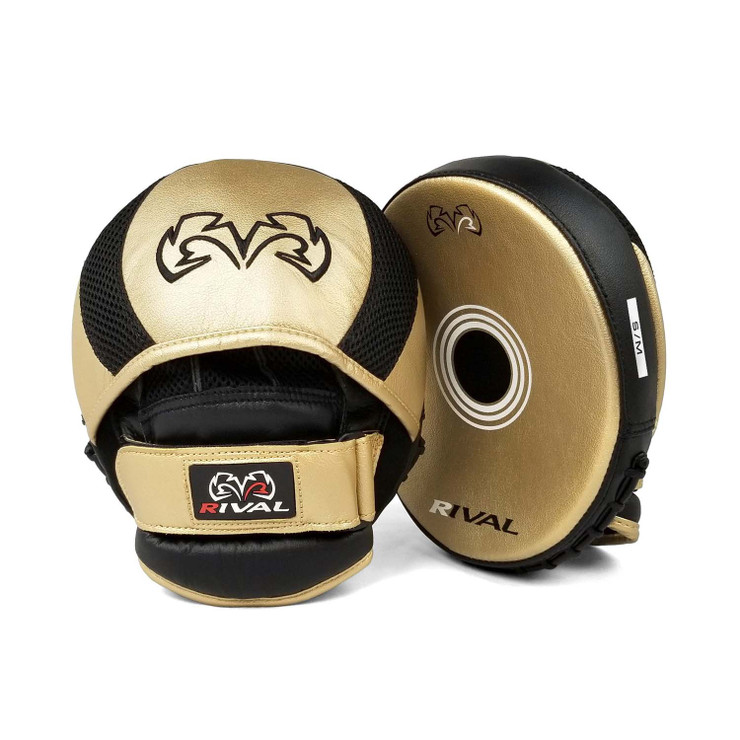 Rival RPM11 Evolution Punch Mitts Gold