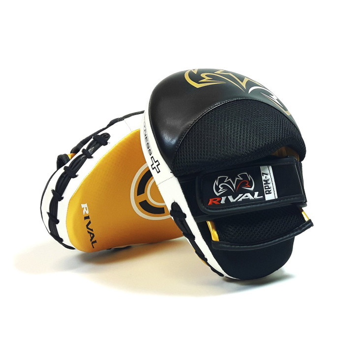 Rival RPM7 Fitness Plus Punch Mitts Black/Gold