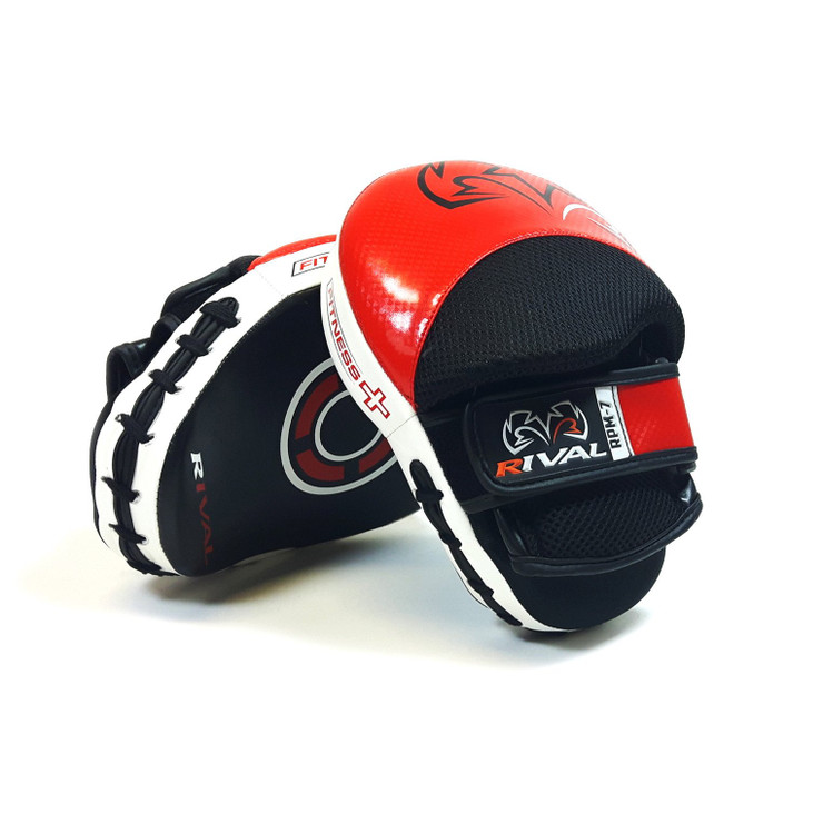 Rival RPM7 Fitness Plus Punch Mitts Red/Black