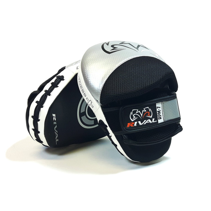 Rival RPM7 Fitness Plus Punch Mitts Silver/Black