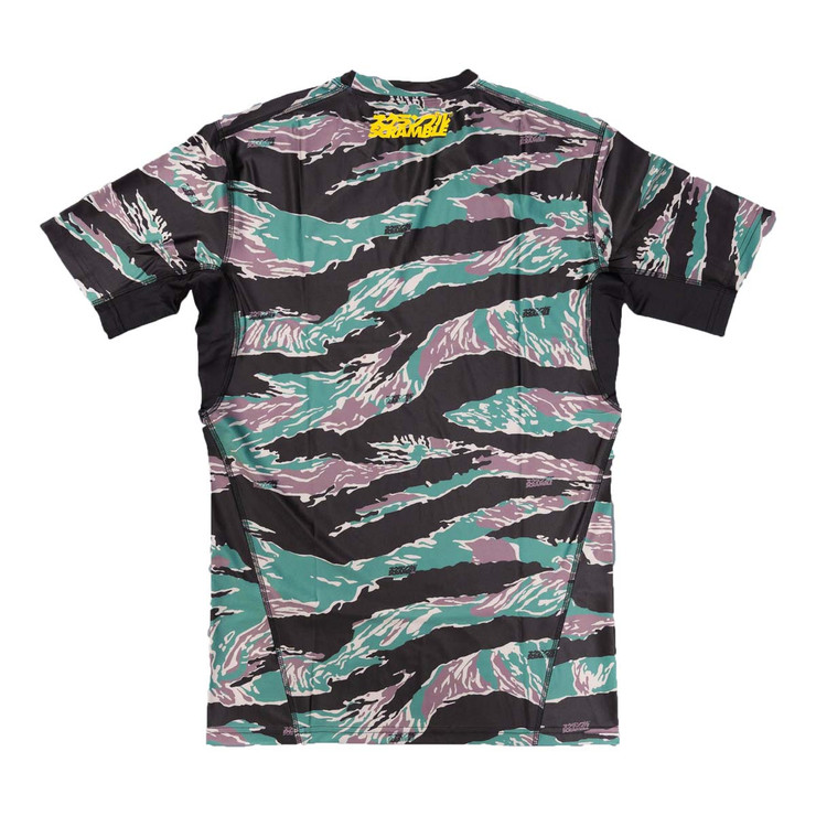 Scramble Tactic Tiger Camo Rash Guard