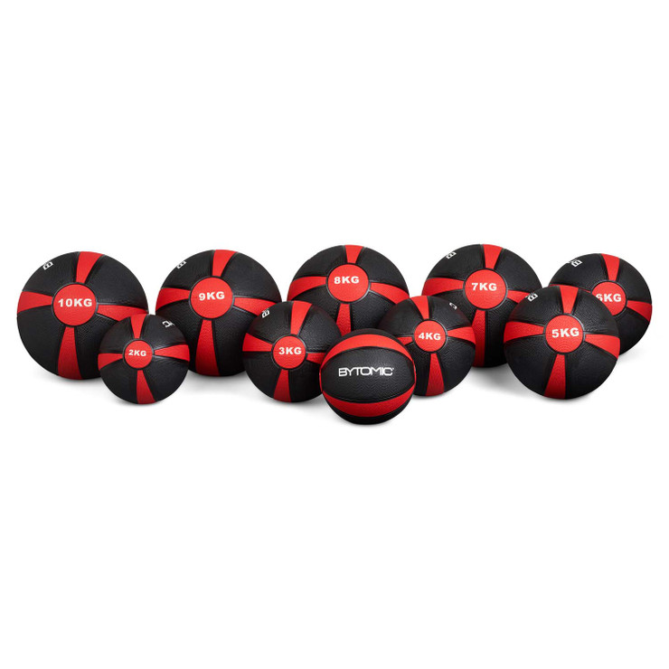 Bytomic 4kg Rubber Medicine Ball