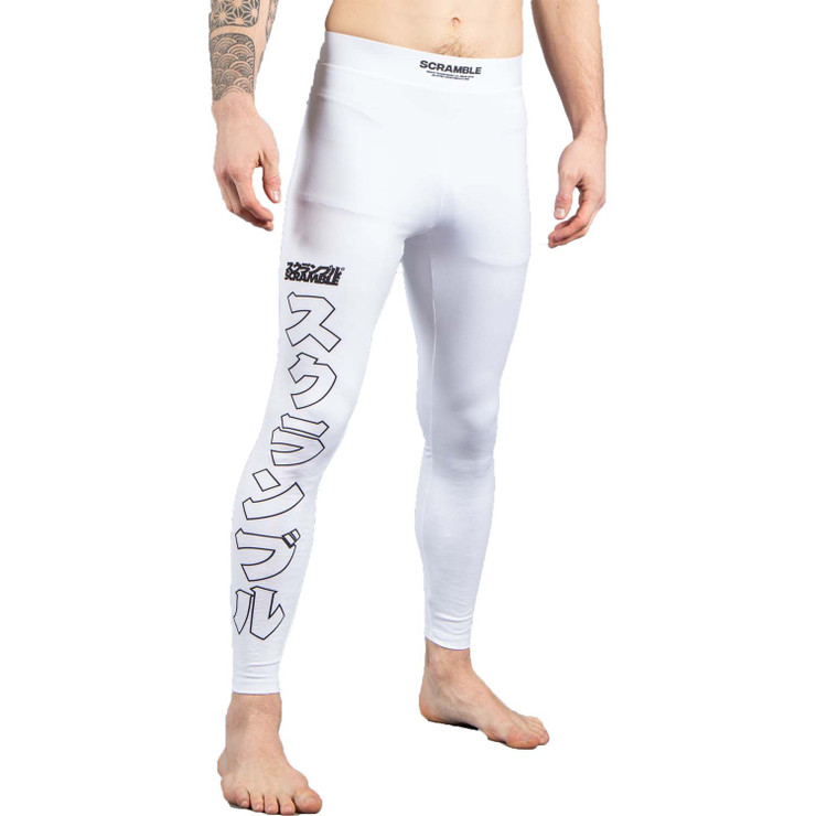 Scramble BASE Spats White
