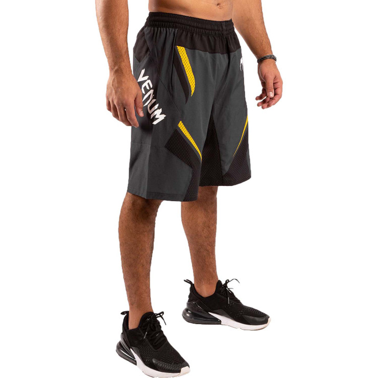 Venum One FC Impact Training Shorts Grey/Yellow