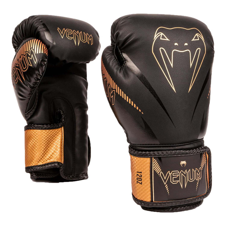 Venum Impact Boxing Gloves Black/Bronze