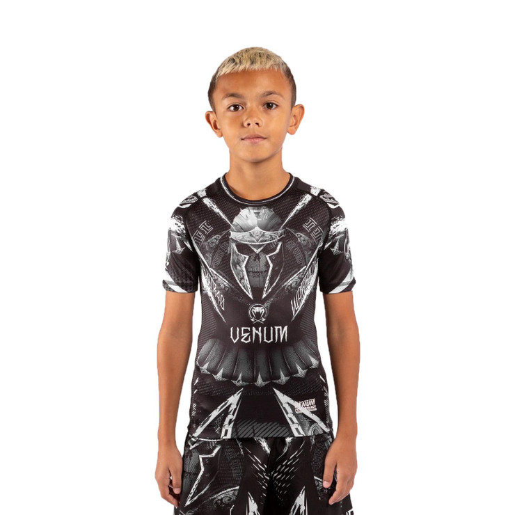 Venum GLDTR 4.0 Kids Short Sleeve Rash Guard