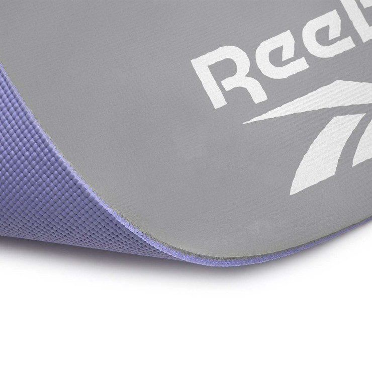 Reebok Double Sided 6mm Yoga Mat Purple/Grey