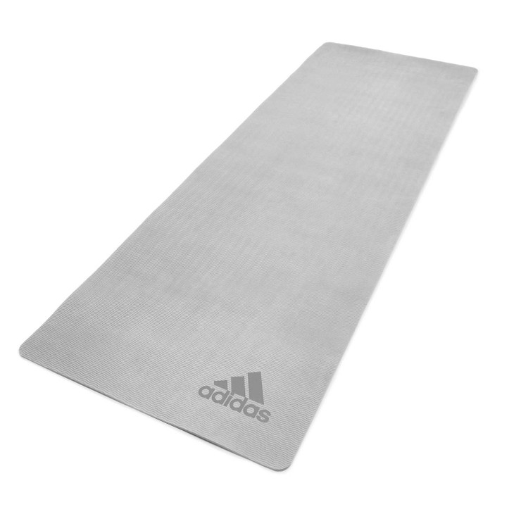 Adidas Premium 5mm Yoga Mat Grey