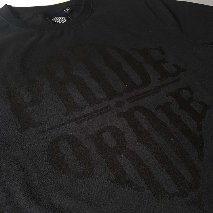 Pride Or Die Reckless T-Shirt Black/Black
