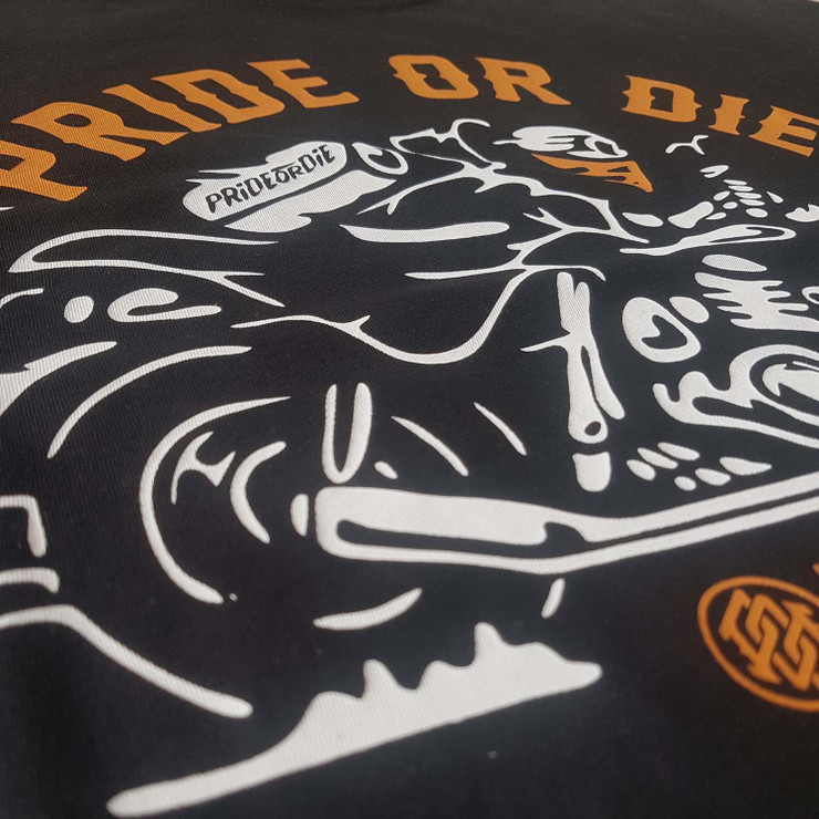 Pride Or Die Never Miss T-Shirt Black