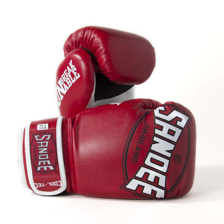 Sandee CoolTec Kids Boxing Gloves Red