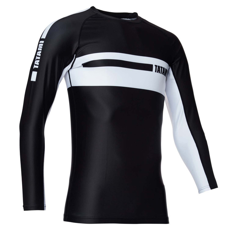 Tatami Fightwear Gallant Long Sleeve Rash Guard Black