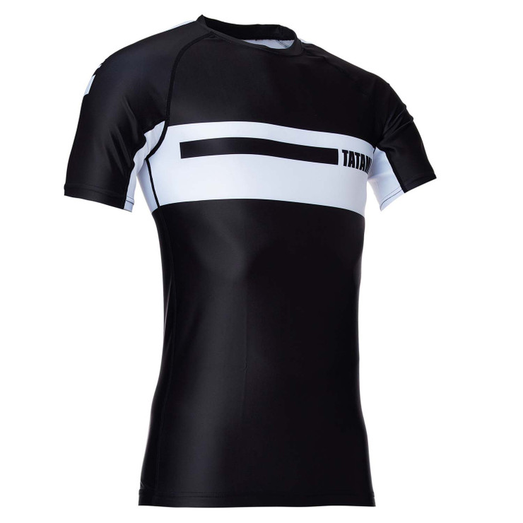 Tatami Fightwear Gallant Short Sleeve Rash Guard Black