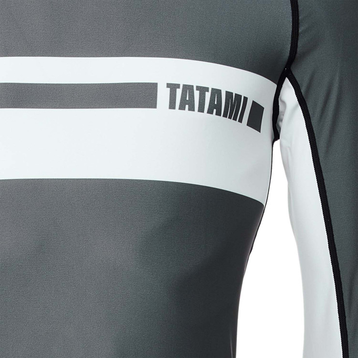 Tatami Fightwear Gallant Long Sleeve Rash Guard Grey