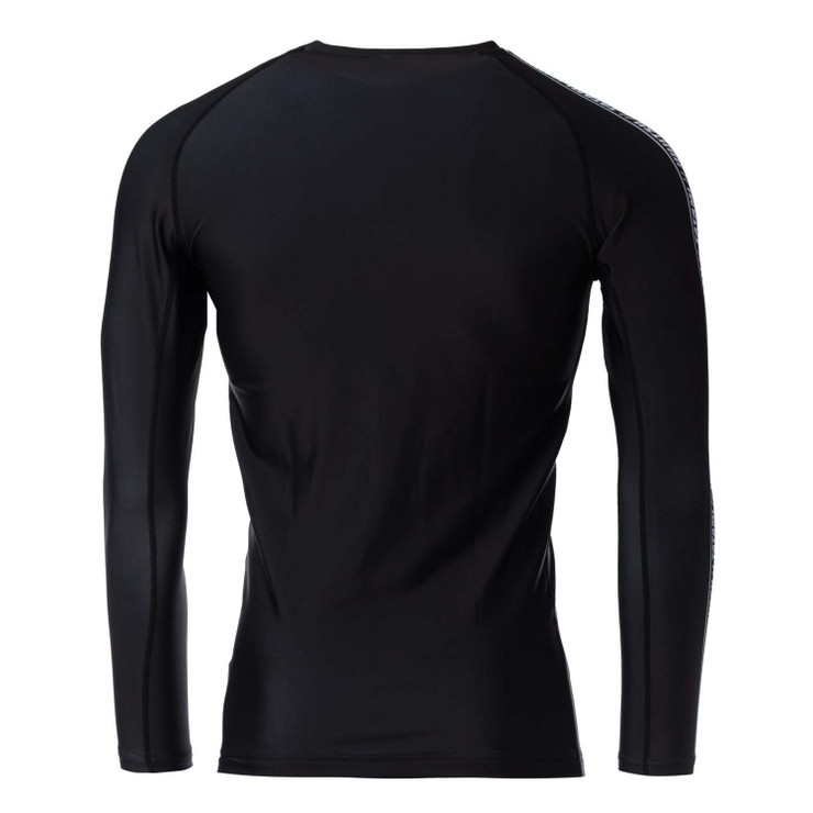 Tatami Fightwear Vengeance Long Sleeve Rash Guard Black