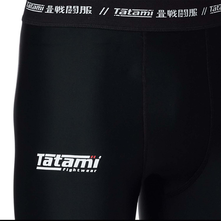 Tatami Fightwear Red Label 2.0 Grappling Spats Black