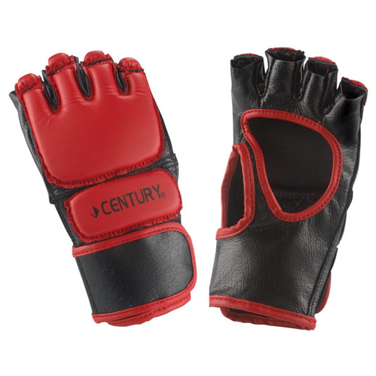 Century Open Palm Youth MMA Fight Gloves Red