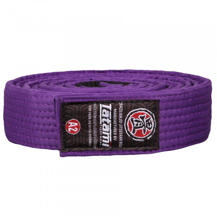 Tatami Fightwear BJJ Gi Belt Purple
