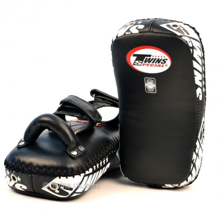 Twins Special KPL10 Deluxe Curved Leather Kick Pad
