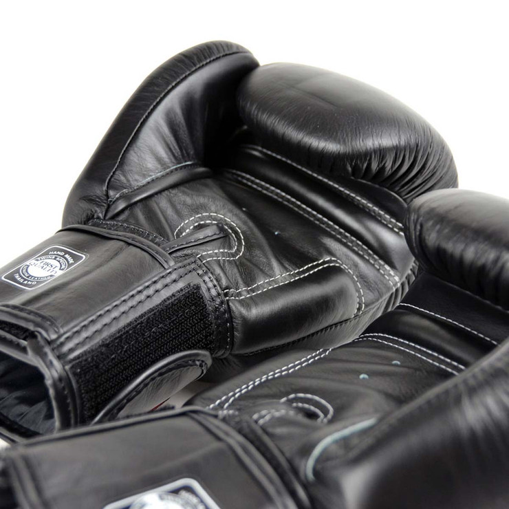 Twins Special BGVL3 Velcro Boxing Gloves Black