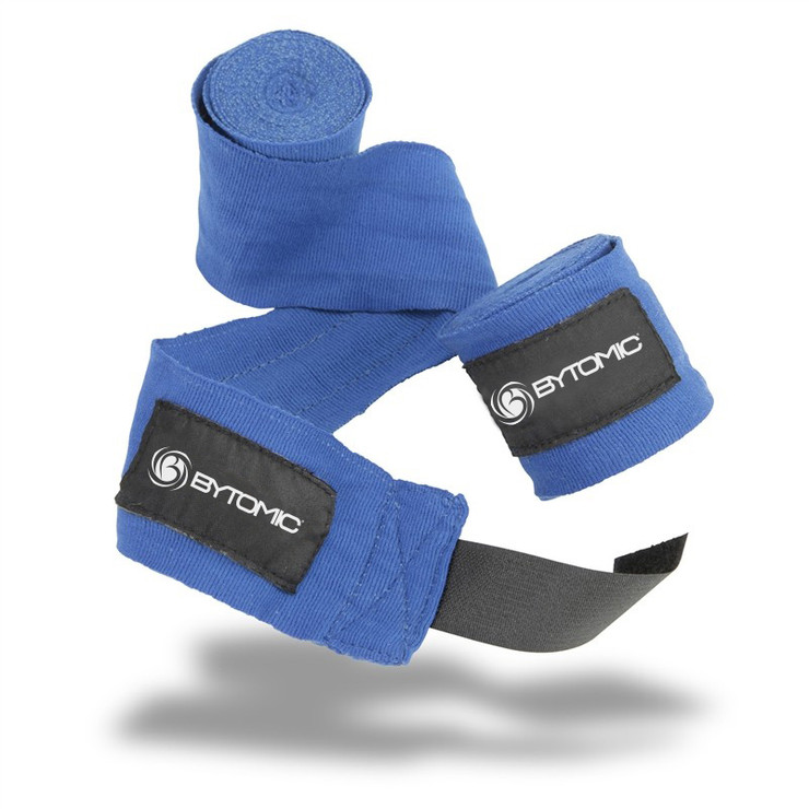 Bytomic 9ft Mexican Hand Wraps Blue