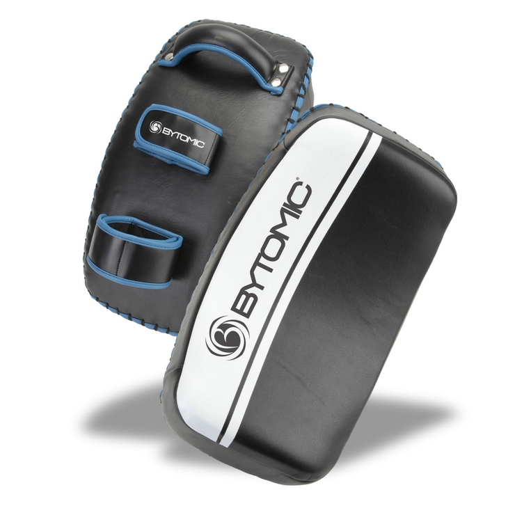 Bytomic Leather Curved Pro Thai Pad Black/Blue