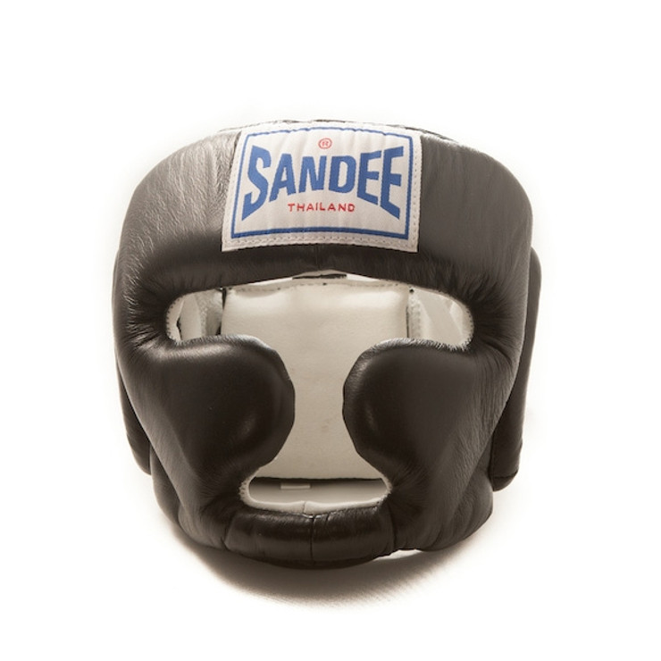 Sandee Leather Authentic Closed Face Head Guard