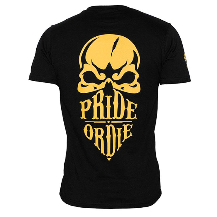 Pride or Die Reckless Mens T Shirt Black