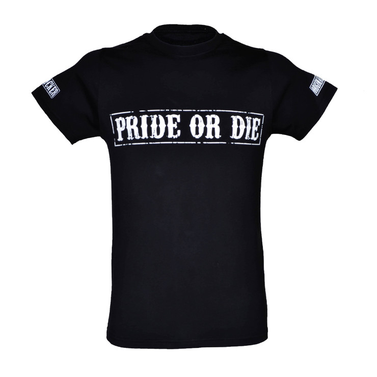 Pride or Die Fight Club Mens T Shirt Black