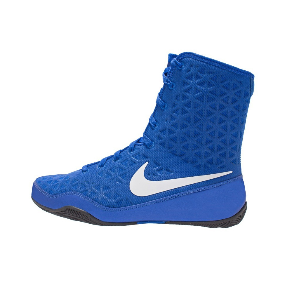 online store 5a6d0 5e920 Nike KO Boxing Boots Blue White. Colour - Required Blue