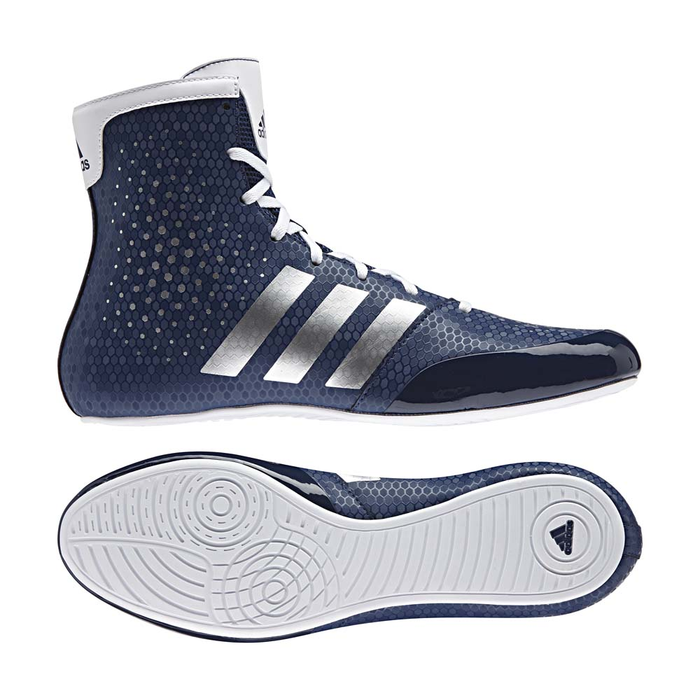 detailed look 5f511 681c8 Adidas KO Legend 16.2 Boxing Boots Blue White