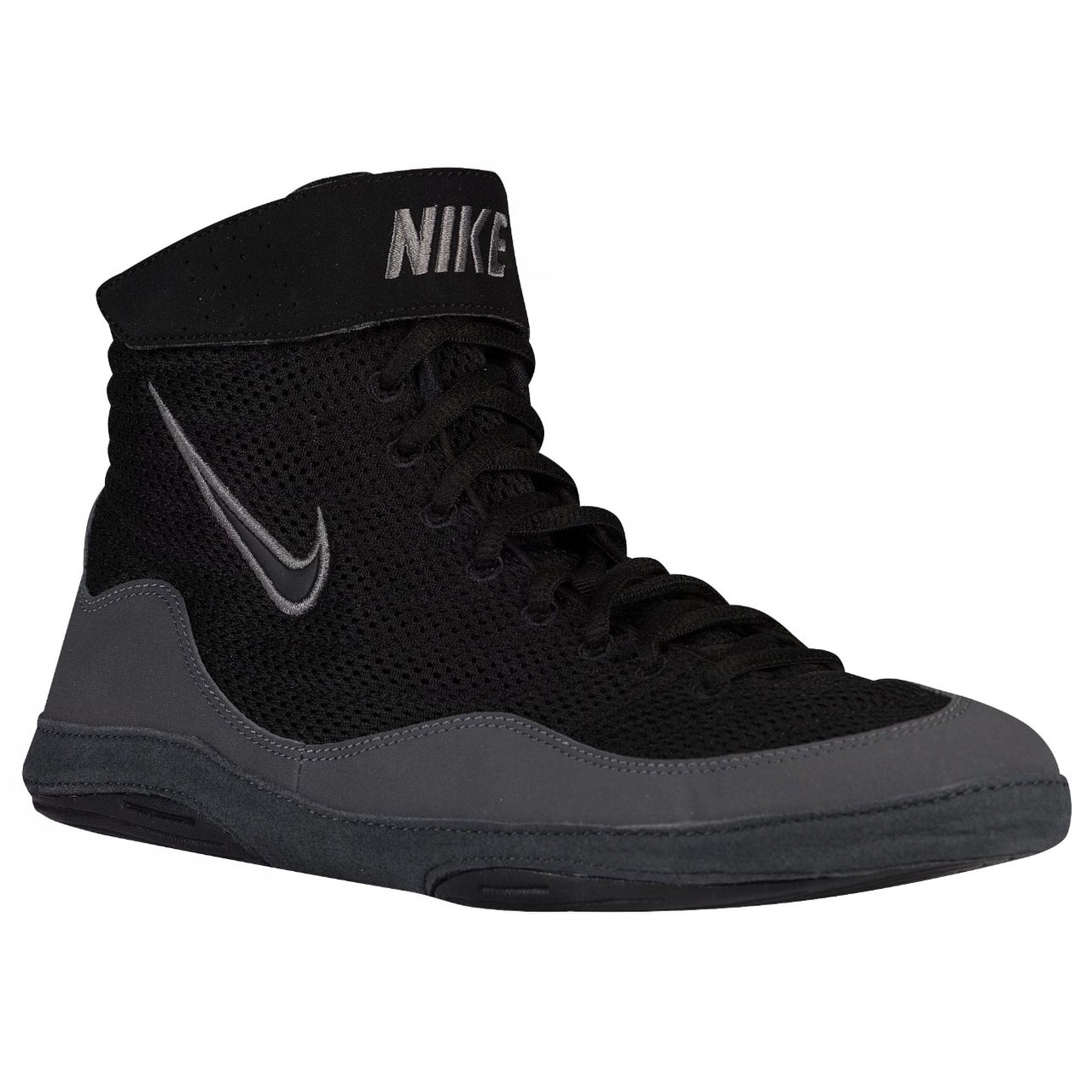 141a14649684 ... Nike Inflict 3 Boxing Boots Black Grey ...
