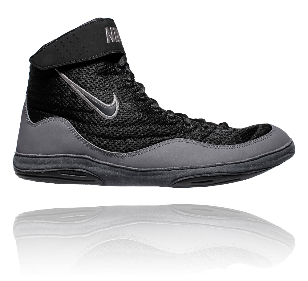 f70a6f92b4e Nike Inflict 3 Boxing Boots Black Grey ...