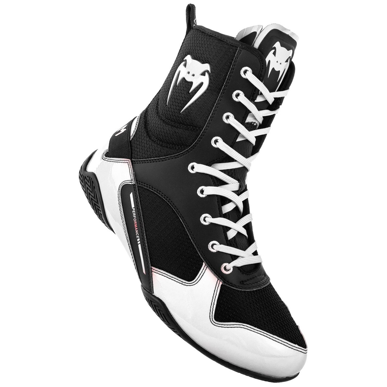 diversión preferir Devorar  Venum Elite Boxing Shoes Black/White | Made4Fighters