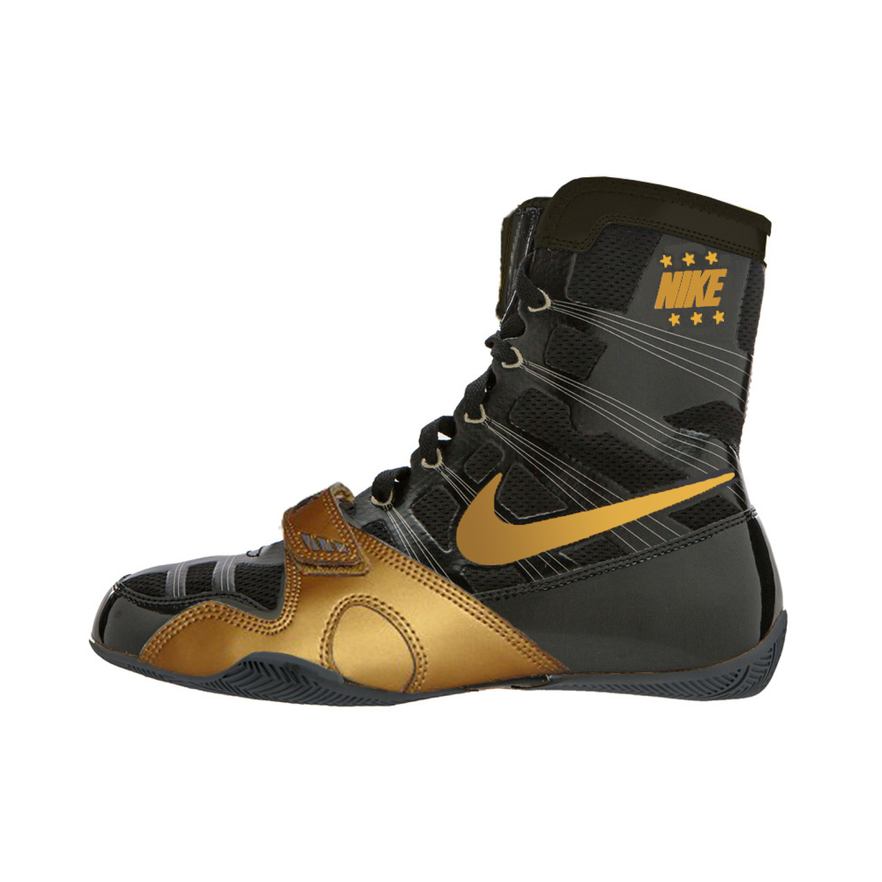 f81fb27372a Nike Hyper KO Limited Edition Boxing Boots Black/Gold